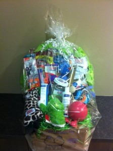 bark for life basket